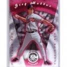 Greg Maddux 1997 Pinnacle Totally Certified Platinum Red #83 Braves HOF #/3999