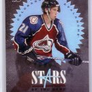 Peter Forsberg 1995-96 Leaf Limited Stars of the Game #4 Avalanche, Flyers #/5000