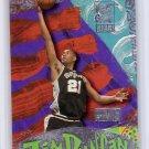 Tim Duncan RC 1997-98 Skybox Premium Next Game #7 NG Spurs