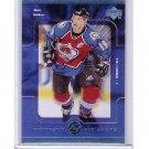 Joe Sakic 1998-99 Upper Deck Fantastic Finishers #FF6 Avalanche