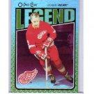 Gordie Howe 2009-10 O-Pee-Chee Foil Rainbow #600 Red Wings