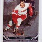 Gordie Howe 2006-07 Upper Deck Black Diamond #156.1 Red Wings HOF