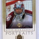 Patrick Roy 2002-03 Upper Deck Classic Portraits #24 Canadiens Avalanche