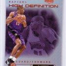 Vince Carter 1999-00 Upper Deck High Definition #HD3 Raptors