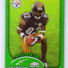 Antwaan Randle El RC 2002 Topps Chrome #192 Steelers