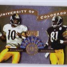 Kordell Stewart 1999 Playoff Prestige SSD Alma Maters #AM21 Steelers