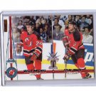 Willie Mitchell Colin White 2000-01 Pacific Rookies Ice Blue #246 Devils  #/45