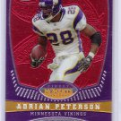 Adrian Peterson 2008 Finest Adrian Peterson Finest Moments #AP12 Vikings #/629