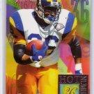 Jerome Bettis 1994 Fleer Flair Hot Numbers #2   Steelers, Rams HOF