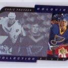 Chris Pronger 1996-97 SP Holoview Collection #HC10  Blues, Flyers