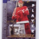 Tomas Holmstrom 1997-98 Pinnacle Be A Player Die-Cut Autographs Red Wings