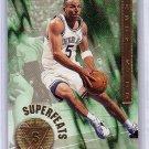 Jason Kidd 1996-97 NBA Hoops Superfeats #2  Mavericks, Suns, Knicks
