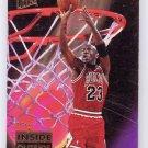Michael Jordan 1993-94 Ultra Inside Outside #4 Bulls Insert