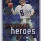 Troy Aikman 2000 SPx Highlight Heroes #HH10 Cowboys HOF