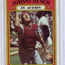 Johnny Bench 1972 Topps #434  (In Action) Reds HOF