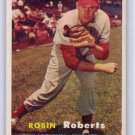 Robin Roberts 1957 Topps #15  Phillies H.O.F.