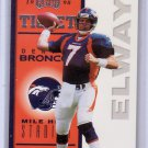 John Elway 1998 Playoff Contenders Ticket #24  Broncos