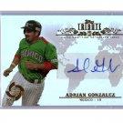Adrian Gonzalez Auto 2013 Topps Tribute WBC Autographs #WTA-AG2 Dodgers, Red Sox