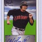 Steve Pearce 2009 Obak Autographs Black #A24 Orioles #/50