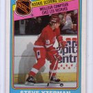 Steve Yzerman RC 1984-85 O-Pee-Chee #385 Red Wings HOF