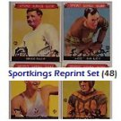1933 Sport Kings Reprints Complete Set (48) Ruth