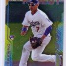 Alex Guerrero RC 2014 Topps Finest #5 Dodgers