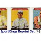 1933 Goudey Sport Kings Reprints Complete Set (48)