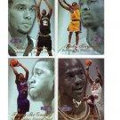 1997-98 Flair Showcase Row 3 Complete Set #1-80 Duncan RC, MJ, Kobe