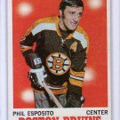 Phil Esposito 1970-71 Topps # 11 Bruins HOF