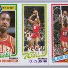 1980-81 Topps #1  3 / Julius Erving / 258 Brewer  Dr. J