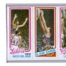 Kareem Lakers 1980-81 Topps #132135 Jabbar / 253 / 167