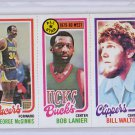 1980-81 Topps #127  McGinnis/Lanier All-Star/Bill Walton