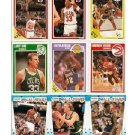 1989-90 Fleer Basketball Complete Set (168) + All-Star Sticker Set (11) MJ, Bird, Magic, Pippen