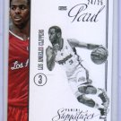 Chris Paul #/25 2012-13 Panini Signatures Stars #59  Clippers