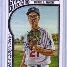 Zack Greinke 2015 Topps Gypsy Queen White Framed #13 Dodgers