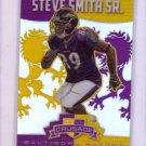 Steve Smith Sr. 2014 Panini Rookies & Stars Crusade Purple Refractor #8 Ravens #/49