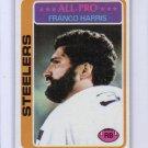 Franco Harris 1978 Topps #500 Steelers HOF