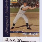 Clete Boyer 1999 Fleer Sports Illustrated  Greats Of The Game Autographs Yankees