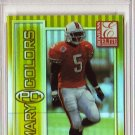 Edgerrin James RC 1999 Donruss Elite Primary Colors Yellow #6 PSA 8 Colts