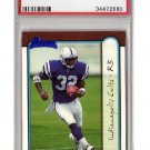 Edgerrin James RC 1999 Bowman #161 PSA Mint 9 Colts