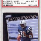 Edgerrin James RC 1999 Stadium Club Emperors of the Zone #E7  PSA 10 Gem Mint Colts