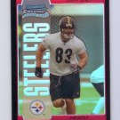 Heath Miller RC 2005 Bowman Chrome Red Refractor #123 Steelers