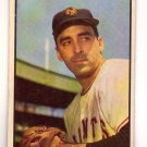 Sal Maglie 1953 Bowman Color #96  New York Giants
