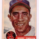 Harry Simpson 1953 Topps #150 Cleveland Indians