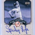 Sparky Lyle 2003 Upper Deck Yankees Signature Series Pride of New York Autographs #PN-SL