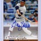 Graig Nettles 2004 Upper Deck Yankees Classics Classic Scripts #AU-27 Autographed