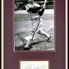 Luke Appling Autographed Matted Display HOF Pre-certified by PSA/DNA 11 x 14 White Sox