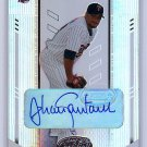 Johan Santana #/100 Auto 2004 Leaf Certified Materials Autograph #102 Twins, Mets