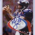 Rod Smith Auto 1998 Collector's Edge Odyssey Foil Autograph Broncos