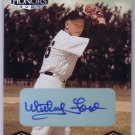 Whitey Ford  #/25 Auto HOF 2004 Playoff Honors Autograph #142 Yankees